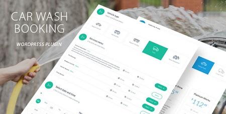 افزونه رزرو کارواش Car Wash Booking نسخه ۱٫۲