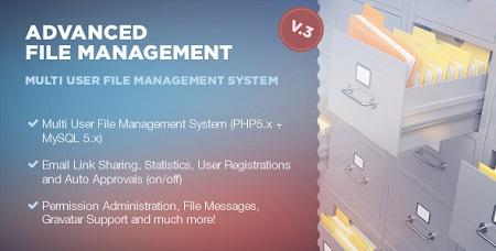 اسکریپت مدیریت فایل Advanced File Management بروزرسانی (26 دی 1394)