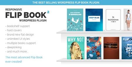 افزونه ساخت کتاب سه بعدی FLIPBOOK نسخه ۲٫۲