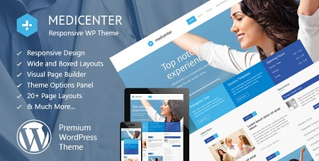 پوسته پزشکی MediCenter وردپرس نسخه ۸٫۰