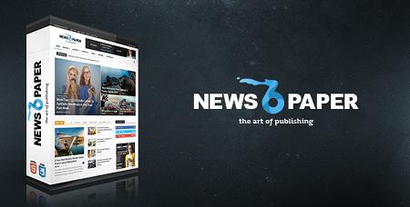 پوسته فارسی خبری Newspaper وردپرس نسخه ۶٫۶٫۵