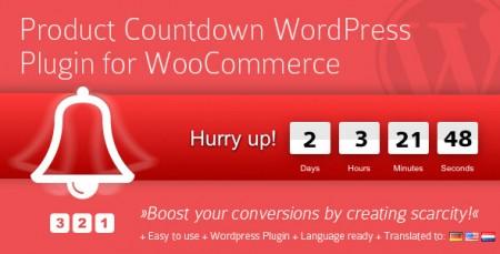 افزونه شمارش معکوس محصولات ووکامرس Product Countdown نسخه 4.0.4
