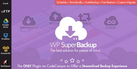 افزونه پشتیبان گیری از وردپرس Super Backup & Clone نسخه 1.7