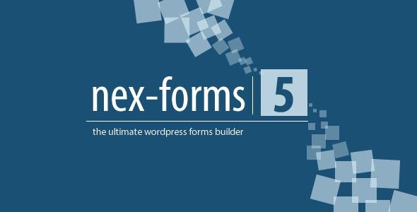 افزونه ایجاد فرم های حرفه ای در وردپرس NEX-Forms نسخه 5.0