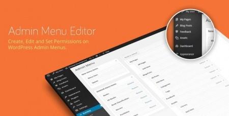 افزونه تغییر رابط کاربری مدیریت وردپرس Admin menu editor نسخه حرفه ای ۲٫۲٫۳