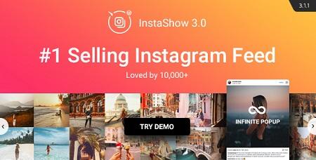 افزونه Instagram Feed نمایش مطالب اینستاگرام در وردپرس نسخه ۳٫۴٫۰