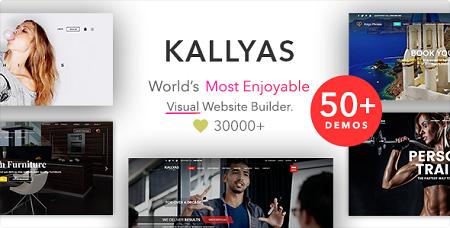 پوسته چندمنظوره KALLYAS وردپرس نسخه ۴٫۱۵٫۱۲