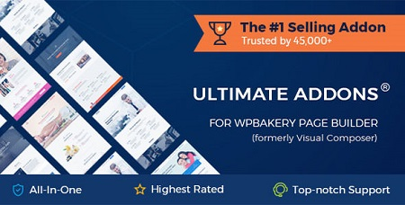 افزونه Ultimate Addons افزایش امکانات صفحه ساز WPBakery نسخه ۳٫۱۶٫۲۲