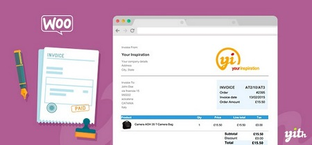 افزونه ایجاد فاکتور به صورت PDF در ووکامرس WooCommerce PDF Invoice and Shipping List