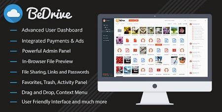 اسکریپت اشتراک گذاری فایل BeDrive نسخه ۱٫۲٫۹