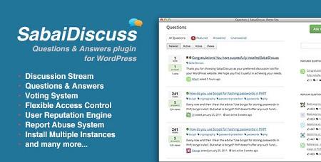 افزونه پرسش و پاسخ Sabai Discuss وردپرس نسخه ۱٫۳٫۴۶
