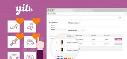 افزونه لیست علاقه مندی ها در ووکامرس WooCommerce Wishlist Premium نسخه 2.2.4