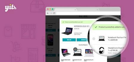 افزونه پاپ آپ افزودن به سبد خرید ووکامرس WooCommerce Added to Cart Popup Premium