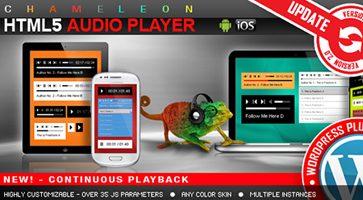 افزونه پخش موسیقی HTML5 Audio Player وردپرس نسخه 2.9.9