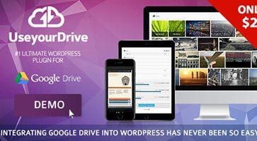 افزونه اتصال گوگل درایو به وردپرس Use-your-Drive نسخه 1.10.2.1