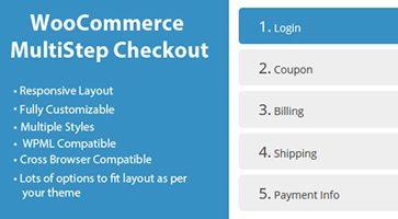 افزونه تسویه حساب چندمرحله ای  WooCommerce MultiStep Checkout Wizard ووکامرس نسخه 3.4.1