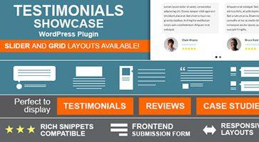 افزونه ایجاد نظرات مشتریان وردپرس Testimonials Showcase نسخه 1.8