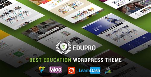 پوسته وبسایت آموزشی EduPro وردپرس ۱٫۴٫۲