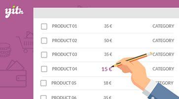 افزونه ویرایش گروهی محصولات Bulk Product Editing ووکامرس نسخه 1.2.10