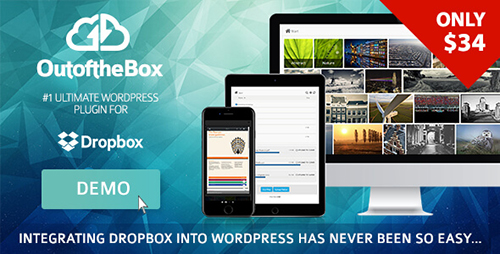 افزونه اتصال وردپرس به دراپ باکس Out-of-the-Box