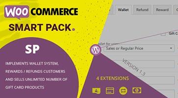 افزونه بسته هوشمند WooCommerce Smart Pack ووکامرس نسخه 1.3.7