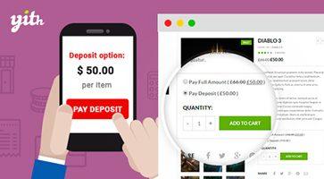 افزونه فروش اقساطی YITH WooCommerce Deposits and Down Payments ووکامرس نسخه 1.2.0