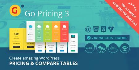 افزونه فارسی ایجاد لیست قیمت Go Pricing وردپرس نسخه 3.3.15