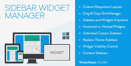 افزونه سایدبار و ابزارک سفارشی Sidebar & Widget Manager وردپرس نسخه 4.0