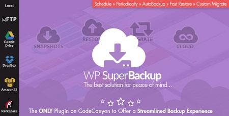 افزونه Super Backup & Clone v1.7