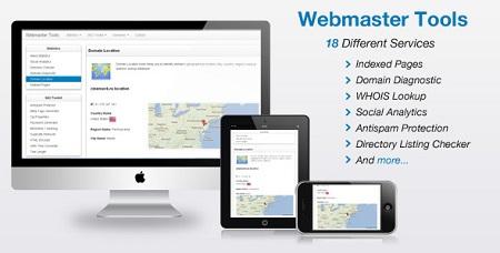 اسکریپت ابزار وبمستر Codecanyon Webmaster Tools نسخه 2.1