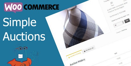 افزونه حراجی محصولات ووکامرس WooCommerce Simple Auctions نسخه 1.2.37