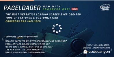 ایجاد لودینگ و درصد بارگذاری در وردپرس با افزونه PageLoader نسخه 3.1