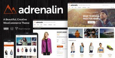 پوسته فروشگاهی Adrenalin ووکامرس نسخه 2.0.2