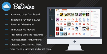 اسکریپت اشتراک گذاری فایل BeDrive