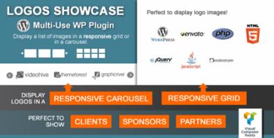 نمایش ویترین لوگوها در وردپرس با Logos Showcase نسخه 1.9.2