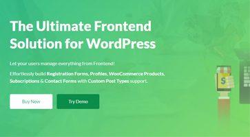 افزونه WP User Frontend Pro ارسال مطلب توسط کاربران نسخه 3.2.0
