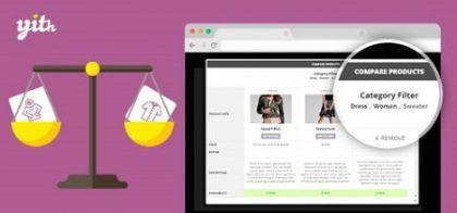 افزونه مقایسه محصولات ووکامرس YITH WooCommerce Compare نسخه 2.3.10