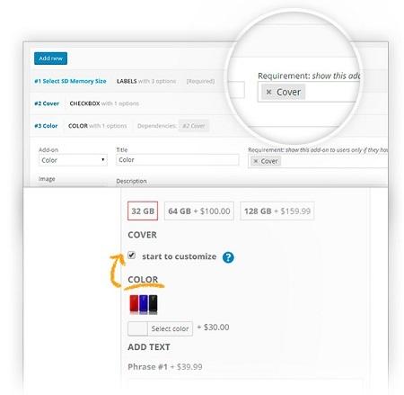 افزونه افزودن ویژگی به محصولات WooCommerce Product Add-Ons Premium ووکامرس نسخه ۱٫۵٫۱۳