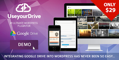 افزونه اتصال گوگل درایو به وردپرس Use-your-Drive