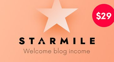 پوسته چندمنظوره و وبلاگی Starmile وردپرس نسخه 1.1