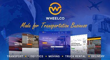 پوسته حمل و نقل و خدماتی Wheelco وردپرس 1.0.3