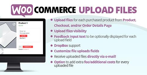 افزونه آپلود فایل WooCommerce Upload Files ووکامرس