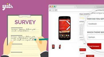 افزونه نظرسنجی ووکامرس YITH WooCommerce Surveys نسخه 1.2.3