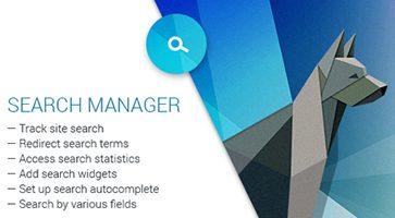 افزونه مدیریت جستجو Search Manager وردپرس و ووکامرس نسخه 4.0.1