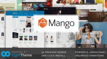 پوسته فروشگاهی Mango ووکامرس نسخه 2.1.0