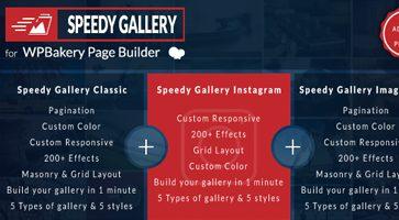 افزونه جانبی گالری Speedy Gallery صفحه ساز WPBakery وردپرس نسخه 1.0