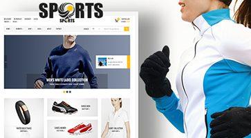 پوسته فروشگاه محصولات ورزشی Sport Shop ووکامرس نسخه 2.2