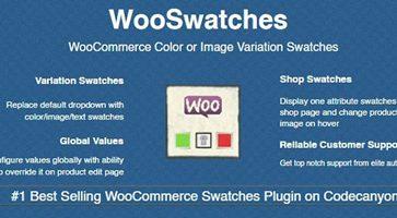 افزونه تصویر و یا رنگ متغیر محصولات متغیر WooSwatches ووکامرس نسخه 2.8.3