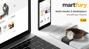 پوسته فروشگاهی Martfury ووکامرس نسخه 1.5.5