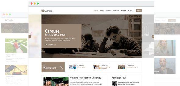 قالب آموزشگاه آنلاین Varsita جوملا